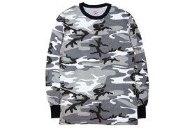 ROTHCO CAMO L/S T-SHIRTS (GREY CAMO)ロスコ/長袖Tシャツ/迷彩(グレー)
