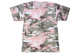 ROTHCO CAMO S/S T-SHIRTS (SUBDUED PINK CAMO)ロスコ/T-シャツ/ライトピンク迷彩