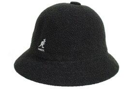 KANGOL BERMUDA CASUAL BUCKET HAT(0397BC/BK001:BLACK)カンゴール/バケットハット/ブラック