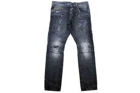 Rockstar Jeans SLIM FIT BIKER DENIM PANTS (RSM214TBV: Black Denim)ロックスタージーンズ/バイカーデニムパンツ