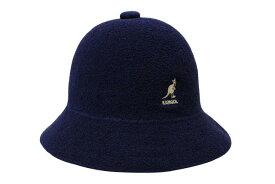 KANGOL BERMUDA CASUAL BUCKET HAT(0397BC:NAVY)カンゴール/バケットハット/ネイビー