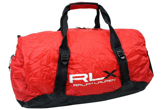 RLX (RALPH LAUREN) LIGHTWEIGHT PACKABLE DUFFLE BAG (RED)RLXラルフローレン/ダッフルバッグ/赤/男女兼用