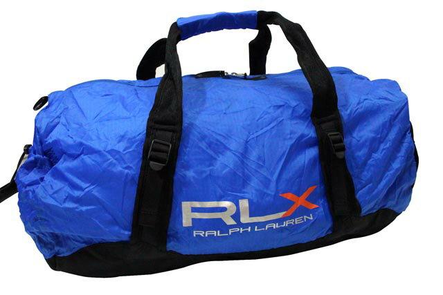 RLX (RALPH LAUREN) LIGHTWEIGHT PACKABLE DUFFLE BAG (BLUE)RLXラルフローレン/ダッフルバッグ/青/男女兼用