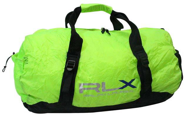 RLX (RALPH LAUREN) LIGHTWEIGHT PACKABLE DUFFLE BAG (LIME)RLXラルフローレン/ダッフルバッグ/ライム/男女兼用