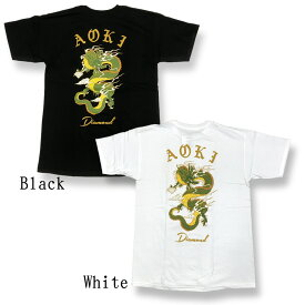 Diamond Supply Co.(ダイヤモンド サプライ) x AOKI T-Shirt(コラボ Tシャツ)