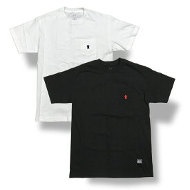Grizzly(グリズリー) OG Bear Embroidered Pocket T-Shirt (T−シャツ)