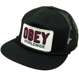 OBEY(オベイ) SHEFFIELD TRUCKER Cap (スナップバックキャップ)