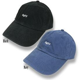 OBEY(オベイ) JUMBLE BAR HAT II 6 PANEL HAT Cap (6パネル・キャップ)