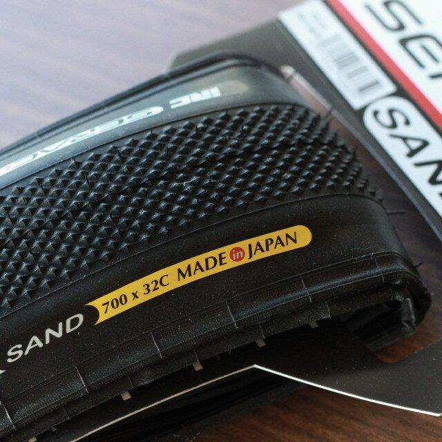 SERAC CX シラクCX SAND チューブタイプ 700×32c IRC シクロクロス クロスバイク