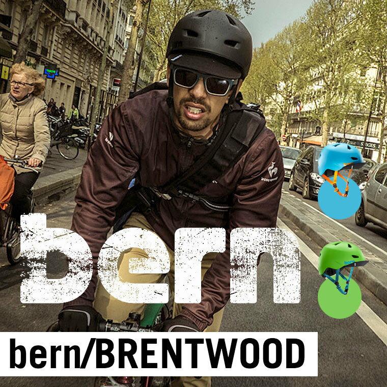 (お買い物マラソン)BRENTWOOD ブレントウッド XXL-XXXL Bern バーン 自転車 スケートボード BMX ピスト ヘルメット 送料無料