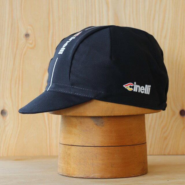 [2枚以上で2枚目から20%off][メール便対応]SUPERCORSA CAP Black Tie Cinelli スーパーコルサ サイクルキャップ Cinelli チネリ イタリア製 サイクリングキャップ