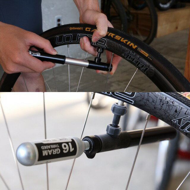 忍者 PUMP ニンジャポンプ PDW ポートランドデザインワークス 自転車 ツーリング 空気入れ 携帯ポンプ 仏式 ポンプ ロードバイク しまなみ海道 グランピー