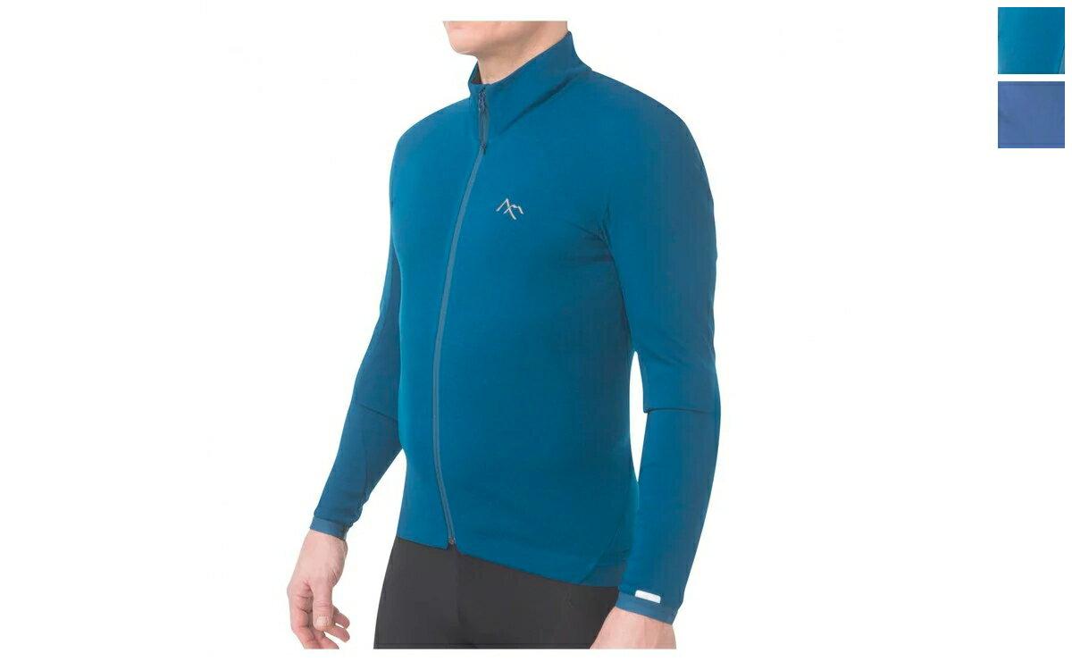 Callaghan Jersey LS Men's (カラー:ブルー/チタニウム)7mesh セブンメッシュ 長袖 裏起毛 メリノウール