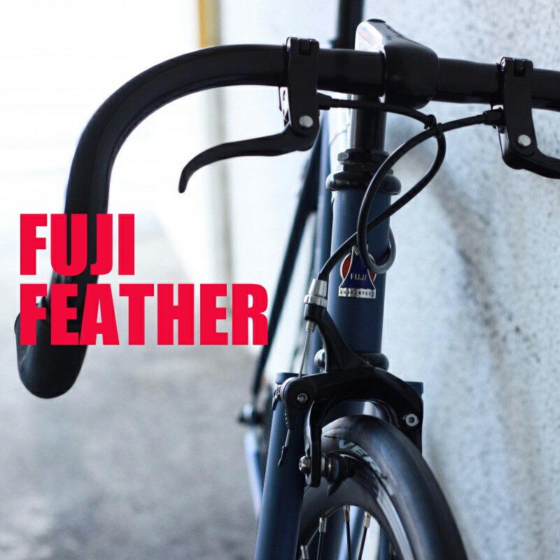 [お買い物マラソン]【組立・整備済】FUJI FEATHER 2018 フジ フェザー ピストバイク シングルスピード
