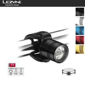 FEMTO DRIVE FRONT 15ルーメン スモールLEDライト LEZYNE レザイン USB LED ライト 自転車ライト 防水 LED 充電 USB 自転車 ピスト MTB