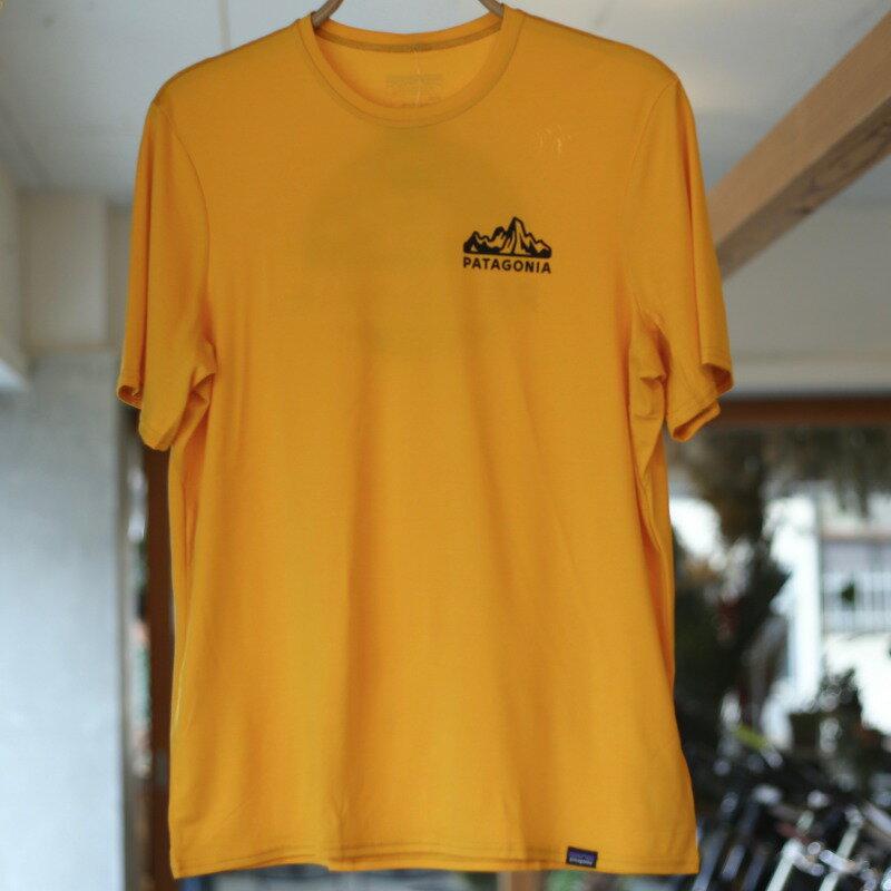 [クリアランス]パタゴニア Patagonia M's Cap Daily Graphic T-Shirt メンズキャプリーンデイリーグラフィックTシャツ