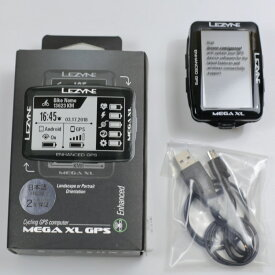 MEGA XL GPS CYCLE COMPUTERS 日本語対応版 国内正規品 2年保証 STRAVA サイクルコンピューターLEZYNE レザイン