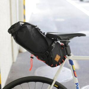 【エントリーでポイント5倍】SADDLE BAG 8L BLACK/BLACK RESTRAP リストラップ サドルバッグ バイクパッキング