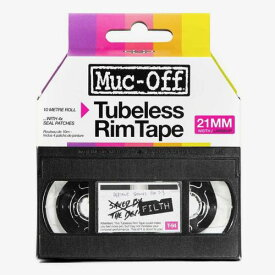 【エントリーでポイント5倍】RIM TAPE 10M ROLL チューブレス用 リムテープ Muc-off マックオフ