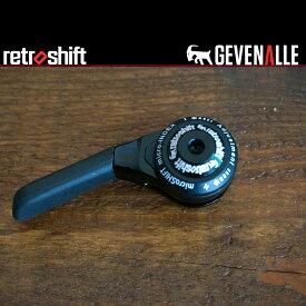 Gevenalle ギブネイル 左W用シフター 自転車 シクロレーサー CX