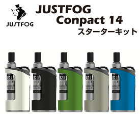 Justfog Compact 14 Kit スターターキット ジャストフォグ コンパクト 1500mAh内蔵バッテリー リキッド容量 1.8ml 電子たばこ 電子タバコ Vape