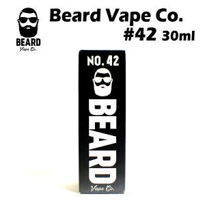 Beard Vape Co. #42 30ml コールドフルーツカップ アメリカ産 リキッド 電子タバコ 電子たばこ