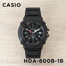 3418393a04 【10年保証】CASIO カシオ スポーツ HDA-600B-1B 腕時計 メンズ レディース