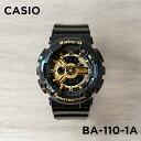 【10年保証】CASIO BABY-G カシオ ベビーG BA-110-1A 腕時計 レディース キッズ 子供 女の子 アナデジ 防水 ブラック …