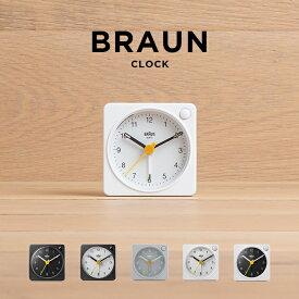 BRAUN ブラウン アラーム クロック BC02X 時計 置き時計 アナログ 目覚まし時計 トラベル 旅行 携帯 小型 ブラック 黒 ホワイト 白 ギフト プレゼント