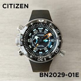 【10年保証】【日本未発売】CITIZEN シチズン プロマスター エコドライブ アクアランド 200M デプスメーター BN2029-01E 腕時計 メンズ 逆輸入 ダイバー アナログ ソーラー シルバー ブラック 黒 ダイバー 海外モデル