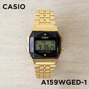 【10年保証】CASIO カシオ スタンダード A159WGED-1 腕時計 メンズ レディース キッズ 子供 男の子 女の子 チープカシ…