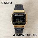 【10年保証】【日本未発売】CASIO カシオ スタンダード A168WEGB-1B 腕時計 メンズ レディース キッズ 子供 男の子 女…