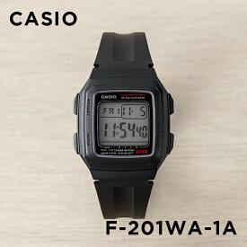 9b621d365f 【10年保証】CASIO カシオ スタンダード F-201WA-1A 腕時計 メンズ レディース