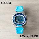 【10年保証】【日本未発売】CASIO カシオ スタンダード レディース LW-200-2B 腕時計 キッズ 子供 女の子 チープカシ…