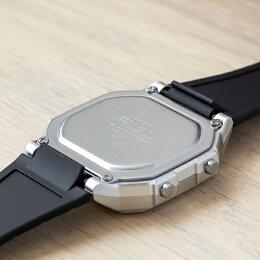 【10年保証】CASIOカシオスタンダードW-217HM-7B腕時計メンズレディースキッズ子供男の子女の子チープカシオチプカシデジタル日付シルバーブラック黒海外モデル
