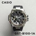 【10年保証】CASIO G-SHOCK カシオ Gショック Gスチール GST-B100-1A 腕時計 時計 ブランド メンズ キッズ 子供 男の…