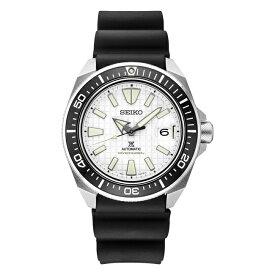 【10年保証】【日本未発売】SEIKO セイコー プロスペックス オートマチック ダイバー SRPE37 腕時計 メンズ 逆輸入 アナログ ホワイト 白 ブラック 黒 サムライ 海外モデル