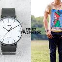TIMEX タイメックス フェアフィールド 41MM メンズ TW2P91300 腕時計 レディース アナログ グレー ホワイト 白 レザー 革ベルト