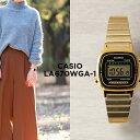 【10年保証】CASIO カシオ スタンダード レディース LA670WGA-1 腕時計 キッズ 子供 女の子 チープカシオ チプカシ デ…