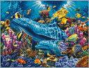 クロスステッチ 刺繍キット 海底世界 図柄印刷