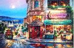 カラービーズストーン画欧州風景(10)