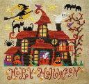 クロスステッチ刺繍キット DMC刺繍糸 Happy Halloween クロスステッチキット クロスステッチ ししゅう糸 刺繍糸 刺繍…
