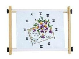 刺繍枠 木製  刺繍もこれで 簡単