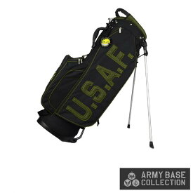 ARMY BASE COLLECTION/アーミーベースコレクション ABC-027SB STAND BAG U.S. AIR FORCE US アーミー エアフォース ABC027SB スタンドキャディバッグ 【送料無料】【ポイント10倍】