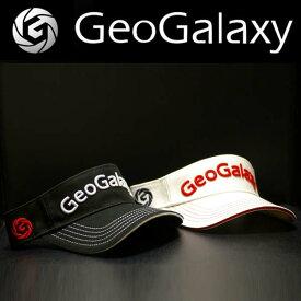 GeoGalaxy/ジオギャラクシーTour visor / ツアーバイザー ステッチ入りクラウンHiタイプ