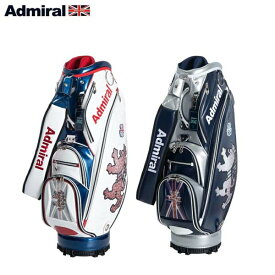 【2019年モデル】 Admiral Golf/アドミラルゴルフ ランパント フラッグレンチキュラー キャディバッグ ADMG9FC1 9.5型 46インチ対応 【ポイント10倍】【送料無料】