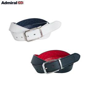 AdmiralGolf/アドミラルゴルフ メンズ リバーシブルベルト ADMB9FV2 ホワイト/ブラック 【ポイント10倍】