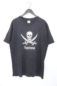 シュプリーム/SUPREME 【07SS】スカルプリントTシャツ(L/ブラック)【SB01】【メンズ】【025091】【中古】bb152#rinkan*B