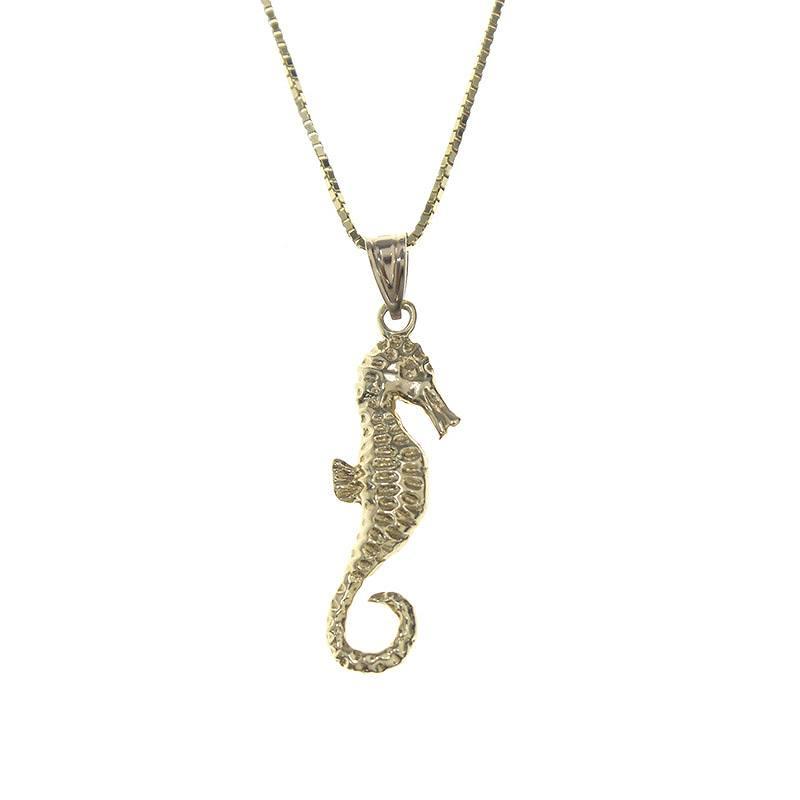 シュプリーム/SUPREME 【16AW】【Seahorse Gold Pendant】14Kシーホースネックレス(ゴールド/4.69g)【SB01】【小物】【017081】【中古】【P】bb131#rinkan*A