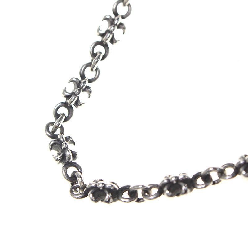 ジャスティンデイビス/JustinDavis 【Tiny FDL Chain】【SNJ102】タイニーチェーンネックレス(50cm/シルバー/17.22g)【BS99】【小物】【220181】【中古】bb51#rinkan*B